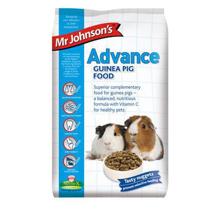 Mr Johnson's Advance Guinea Pig Food