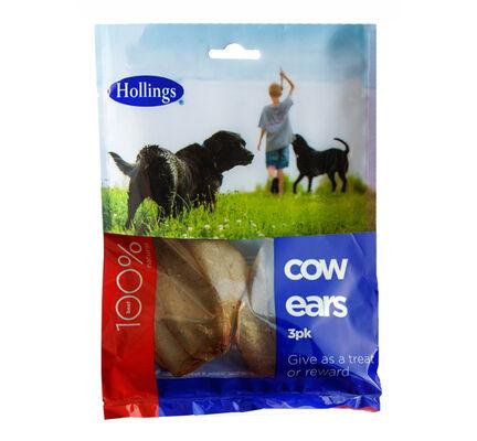 7 x Hollings Cow Ears (3 pack)