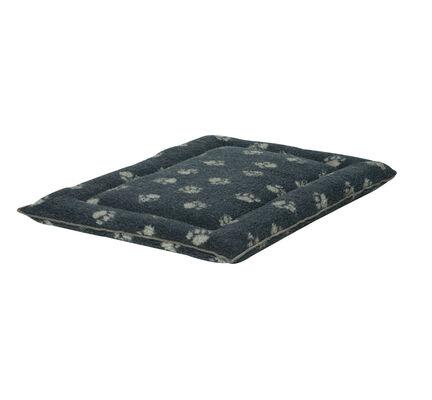 Danish Design Fleece Paw Navy Blue Cage Mattress