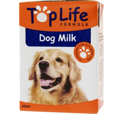 18 x TopLife Formula Dog Milk 200ml