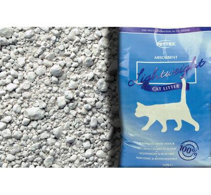 Pettex Lightweight Non Clumping Cat Litter - 20L