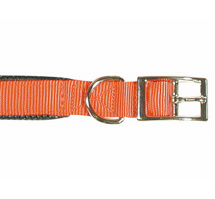 Rosewood Classic Soft Protection Nylon Padded Collar Red