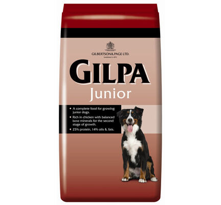 Gilpa Complete Chicken Junior Dog Food - 15kg