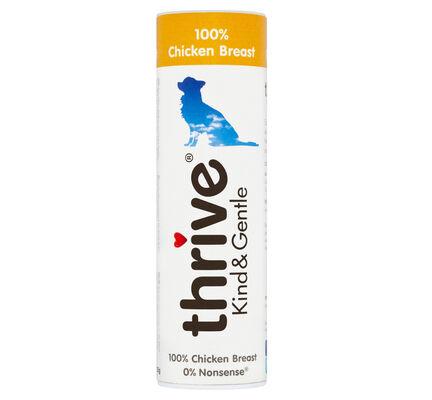 12 x Thrive Dog Treats 100% Chicken Breast 25g