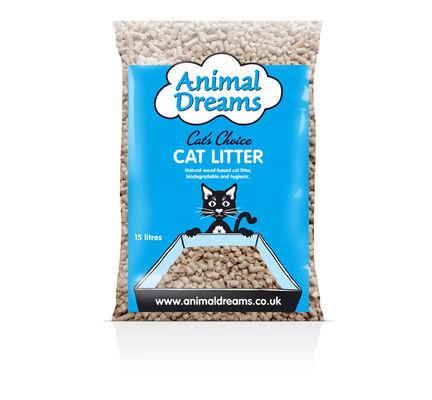 Animal Dreams Cat's Choice Natural Wood Cat Litter