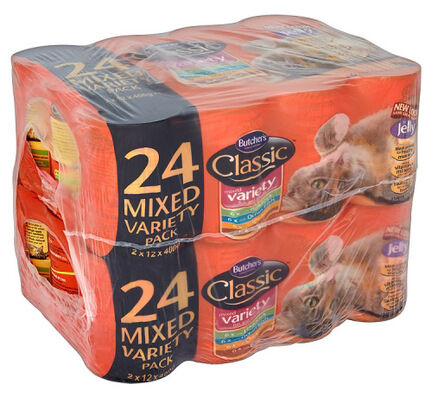 24 x 400g Butcher\'s Classic Cat Variety Pack Mixed