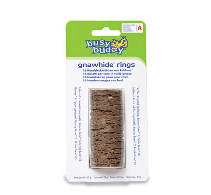 PetSafe Busy Buddy Gnawhide Rings Refills