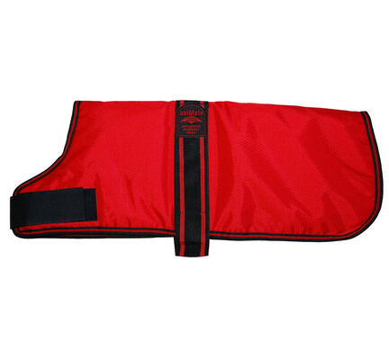 AniMate Padded Waterproof Dog Coat - Red