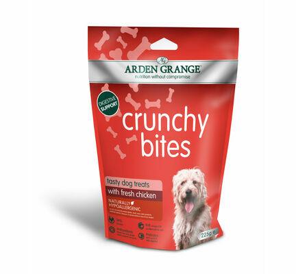 Arden Grange Crunchy Bites Hypoallergenic Chicken Dog Treats - 5kg