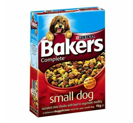 Bakers Complete Adult Small Dog Beef Adult Dry Dog Food