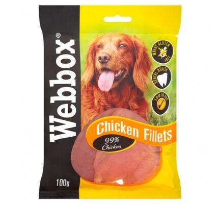 15 x Webbox Chicken Fillets 100g