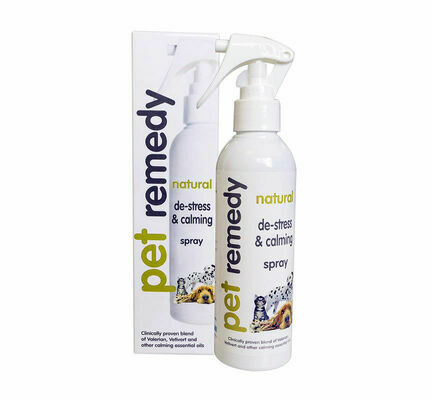 Pet Remedy Natural De-Stress & Calming Spray For Pets - 200ml