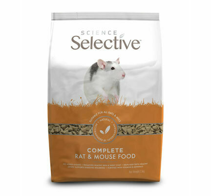 Supreme Science Selective Complete Rat & Mouse Food 1.5kg