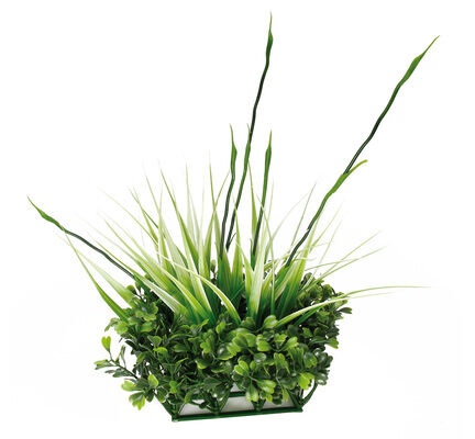 Fluval Chi Boxwood & Tall Grass Ornament