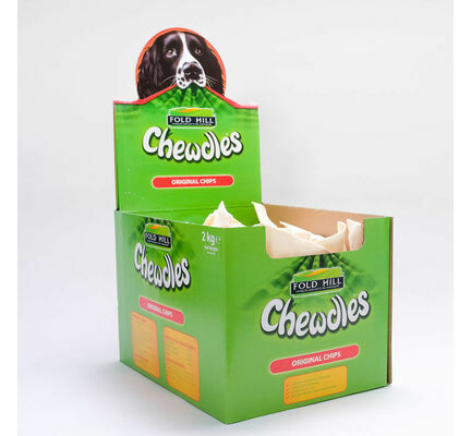 Fold Hill Chewdles Original Chips Beefhide Dog Chew Treat 2kg