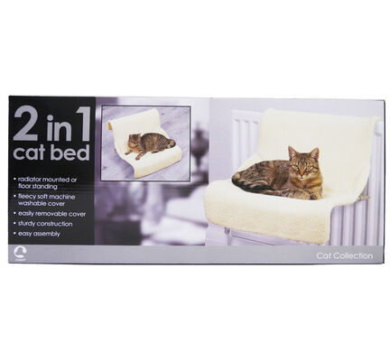 Rosewood Luxury 2-In-1 Radiator Cat Bed