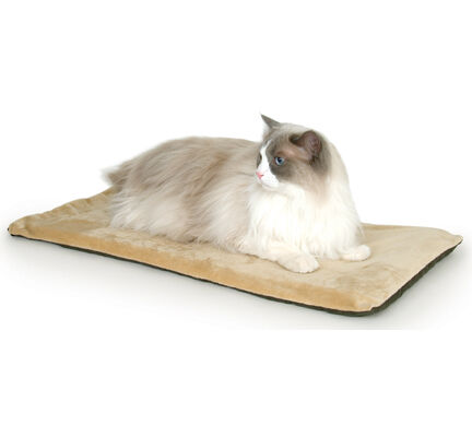 Rosewood K&h Thermo Kitty Mat Mocha 63cm (25