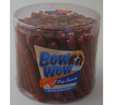 60 x Bow Wow Salami Beef Dog Snacks 20g