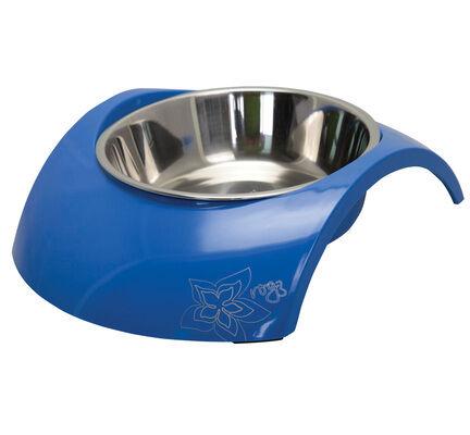 Rogz Stainless Steel Insert Bowl - Luna Blue