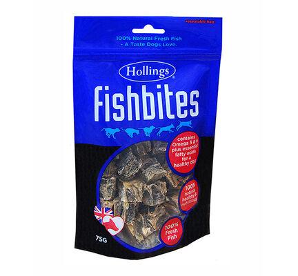 8 x Hollings Fish Bites 75g