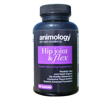 Animology Hip Joint & Flex Natural Supplements (60 Capsules)