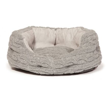 Danish Design Soft Pewter Deluxe Slumber Dog Bed