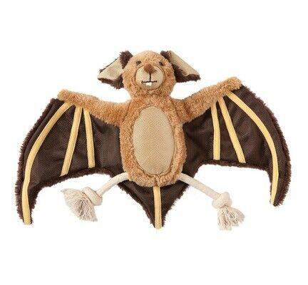 Danish Design Bertie The Bat Plush Dog Toy - 10