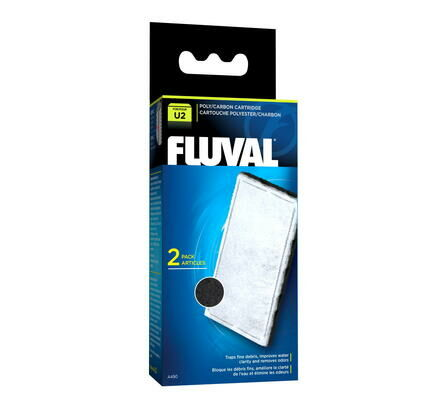 Fluval U2 Poly/carbon Cartridge 2pack
