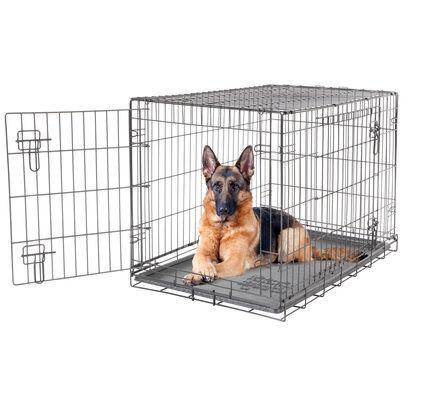 Dogit 2 Door Wire Dog Crate Black
