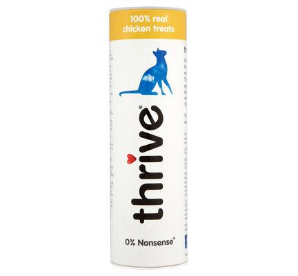 12 x Thrive Cat Treats 100% Chicken 25g