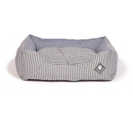 Danish Design Maritime Blue stripe Snuggle Dog Bed