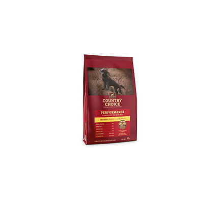 Gelert Country Choice Performance Puppy Chicken Dry Working Dog Food
