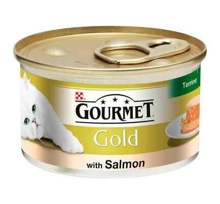 12 x Gourmet Gold With Salmon Terrine 85g