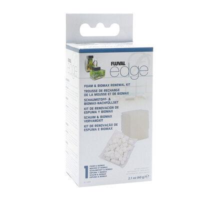Fluval Edge Biomax Kit (1 X Filter Foam 1 X Biomax Bag)