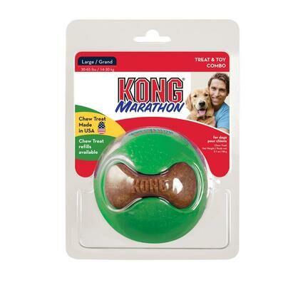 Kong Marathon Ball Treat Toy