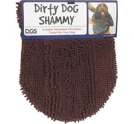 Dog Gone Smart Dirty Dog Shammy Brown 33x79cm