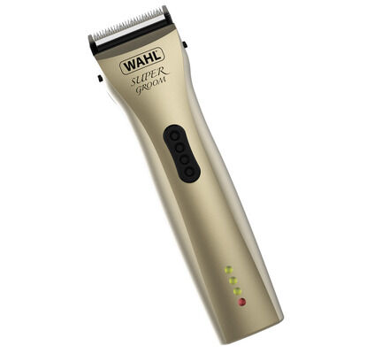 Wahl Super Groom Cordless Dog Grooming Clipper Kit