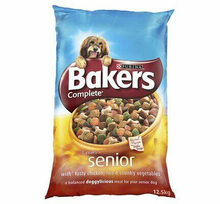 Bakers Complete Senior Bites 7+ Chicken Rice & Veg