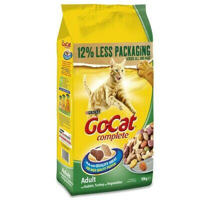 Go-Cat Complete Adult Rabbit Turkey & Veg