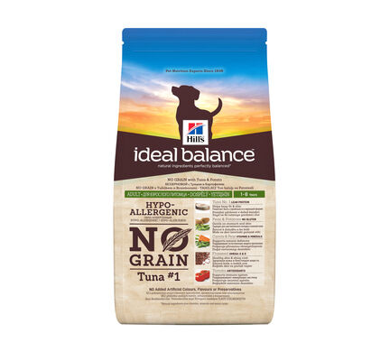 Hill\'s Ideal Balance Canine Adult No Grain Tuna & Potato Dog Food