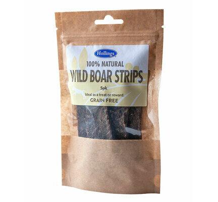 60 x Hollings Wild Boar Strips