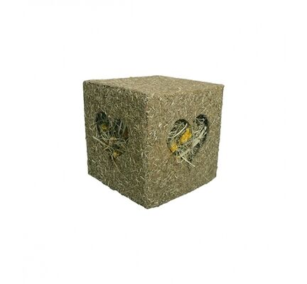 Rosewood I Love Hay Cube Large