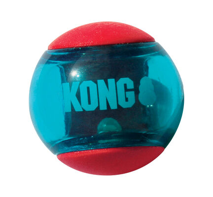 Kong Squeezz Action Ball Red