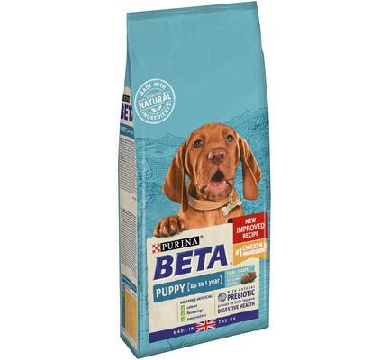 Beta Puppy Dry Dog Food With Chicken 2kg