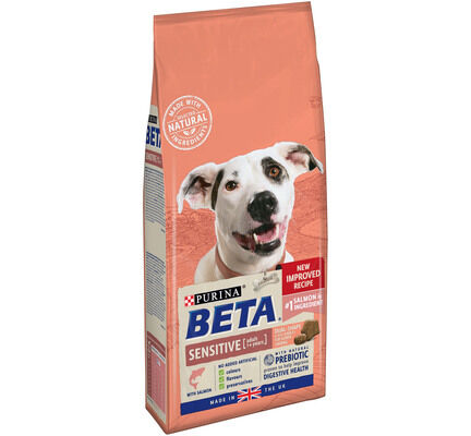 Beta Adult Sensitive Dry Dog Food With Salmon 2kg