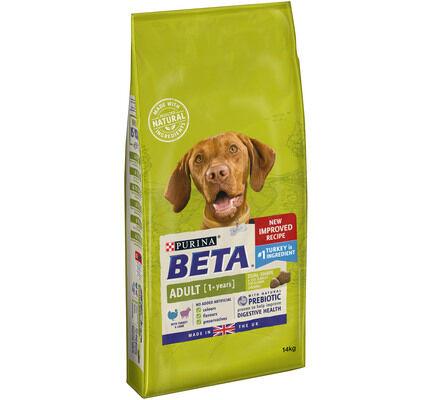Beta Adult Dry Dog Food With Turkey & Lamb
