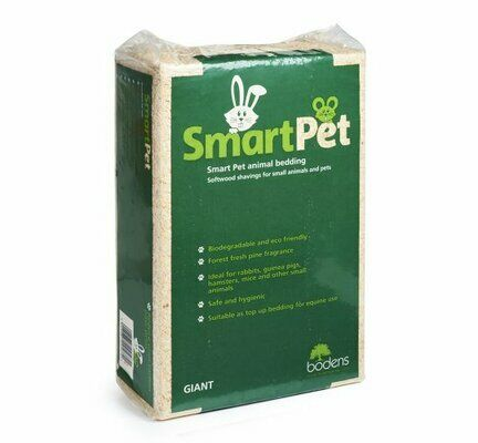 Smart Pet Wood Shavings Small Pet Bedding 10kg