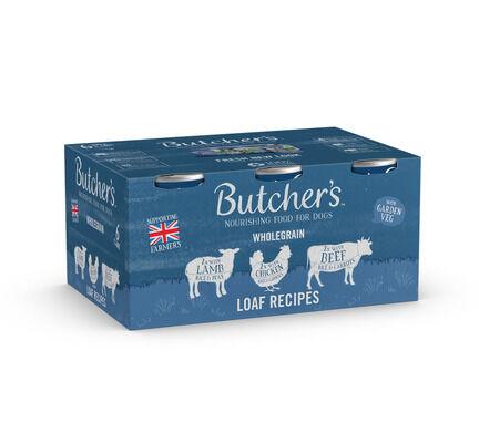24 x Butcher's Can Dog Food - Loaf Recipe 390g