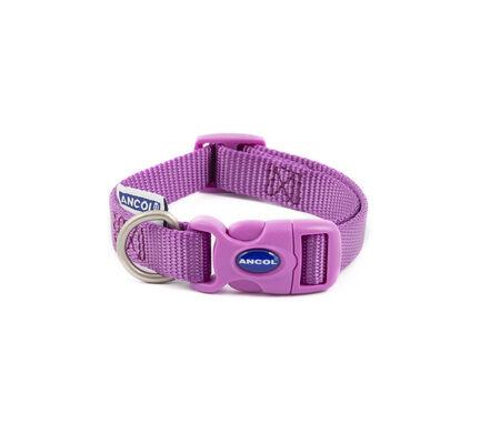 Ancol Heritage Nylon Adjustable Collar Purple