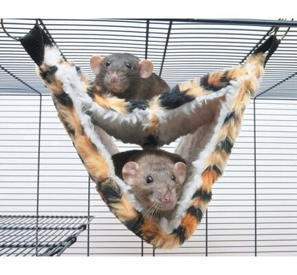 Back-2-Nature Relax Deluxe Fake Fur Hammock 35x21x21cm